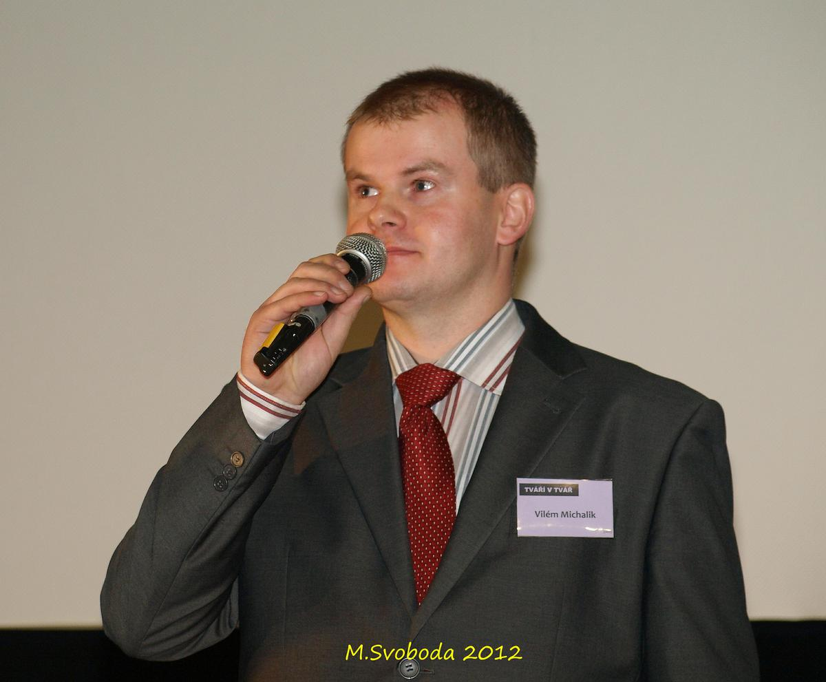 Vilém Michalík, moderátor